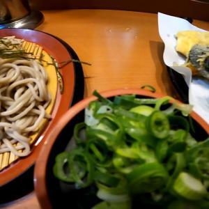 船場センタービルのうどん屋「そら」ざるそばと天ぷら食べる!【ぼっち飯65】