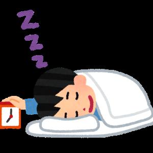 一日中寝てた、寝まくる事は生きていくうえでの自分なりの処世術