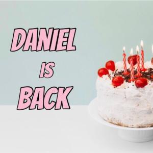 最近のダニエルに関して