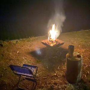 焚火ナイト