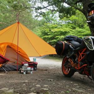 naturehikeの一人用テントが超軽量でキャンプツーリングにおすすめ!