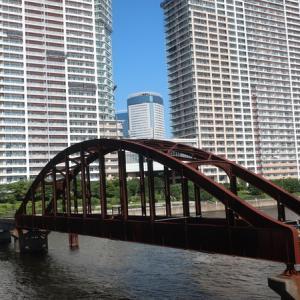 大都会の遺構「晴海橋梁」を見に行ってきたよ!