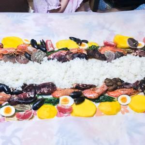 外出自粛なのて自宅でフィリピン風郷土料理