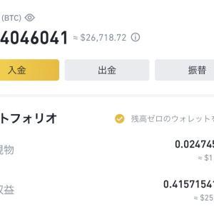 【暗号資産】1億円を目指し百万円勝負 2021/4/11 やや上昇