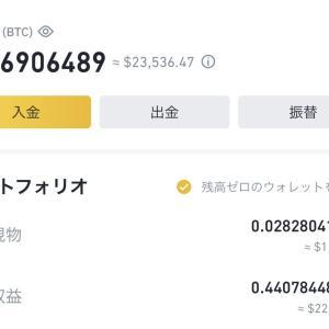 【暗号資産】1億円を目指し百万円勝負 2021/4/24 大暴落