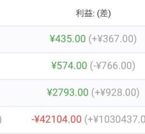 【FX自動売買】2021/9/13〜9/17(週間損益)