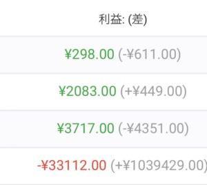 【FX自動売買】2021/10/11〜10/15(週間損益)