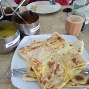 マレーシアでの朝食 Mamakでの定番