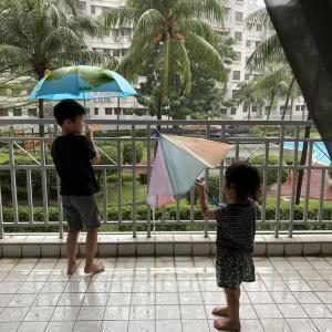 久しぶりの大雨のマレーシア