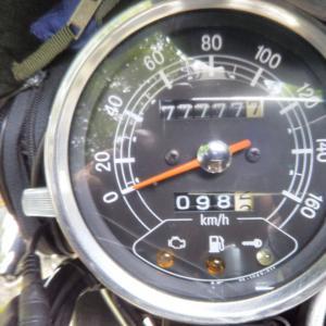 ゾロ目 SR400fi