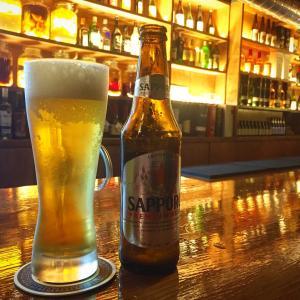 厦門の日本料理バルCHILL サッポロのビール入荷しました。