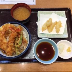 【ワンコイン500円!】てんやの天丼&新芽生姜の天ぷらを食べてきた!!【希少部位☆】