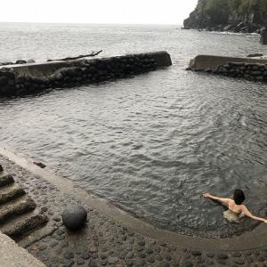 坂本温泉 【薩摩硫黄島】 天然温泉プール