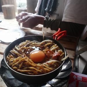 絶品自炊夕食でヘロヘロ♪【らいちょう温泉雷鳥荘】立山