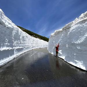 圧巻!乗鞍岳・雪の回廊 【 日本百名山 】