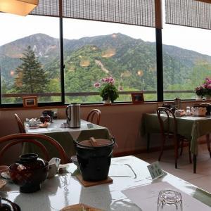 安曇野の美味しい夕食 【 中の湯温泉旅館 】