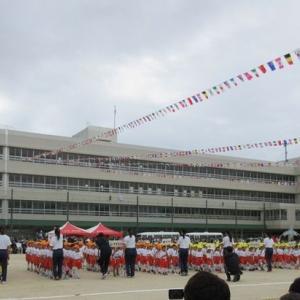 台風の影響で孫の運動会は最後の体育の日‼鼓笛隊に感動!