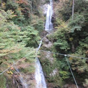 宍粟市の日本の滝100選の原不動滝!我が家の男は高所恐怖症!