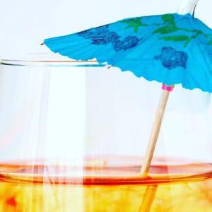 半身浴&ビニール傘で自宅のバスルームをサウナに