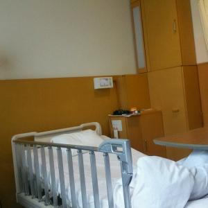 また、入院していました。