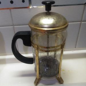 これからのコーヒーはフレンチプレスだよ