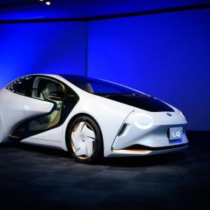トヨタのコンセプト「LQ」はオゾンを分解する次世代電気自動車!