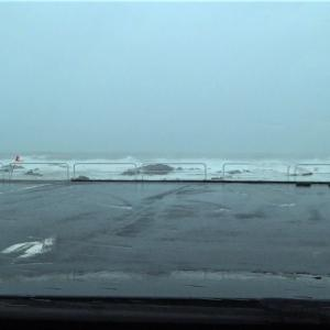 台風19号の2日前から当日までの館山の様子をまとめました