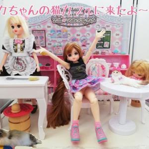 リカちゃんストーリー「猫カフェにきたカレンちゃん」