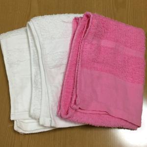 タオルの断捨離。減らしたいなら、まずは主婦のテリトリーにしよう!(捨て活)