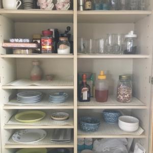 食器棚の掃除と片付けと断捨離の結果。ビフォーアフター写真付き。(2020年2月)
