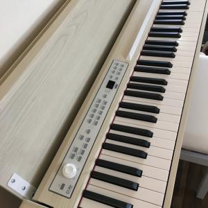 おすすめ電子ピアノ、KORG(コルグ)C1 Air ホワイトアッシュの感想。