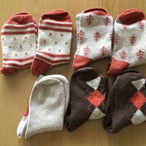 冬の靴下7足を捨てた理由。