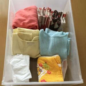 服の捨て方(中級編)。おすすめな保留ボックス。