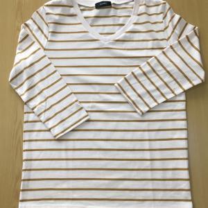 ボーダーTシャツコーデ:「脱・黒白」の色選びもおすすめ!(持ち服の紹介2)