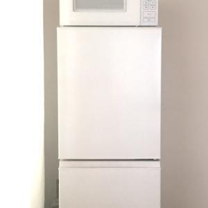 無印良品の冷蔵庫と電子レンジを購入:家電嫌いな私もテンション上がった。