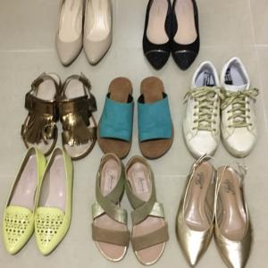 非黒服系ミニマリストの持ち物:靴8足と捨てた靴13足のまとめ。