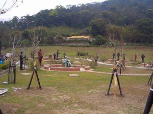 慈湖紀念雕塑公園(蒋介石銅像)(台湾大渓)