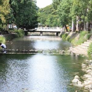 風の新竹にちょこっと5 護城河親水公園(台湾新竹)