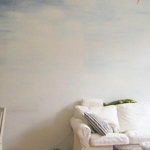 DIYリフォームで好み空間。その2〜壁にペンキ、壁画も有り!