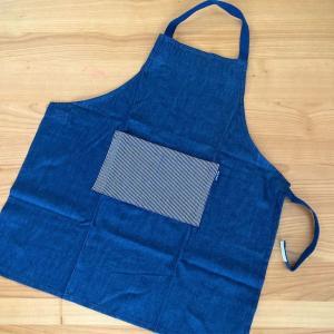 小学生にオススメ!三角巾付きの簡単エプロン。