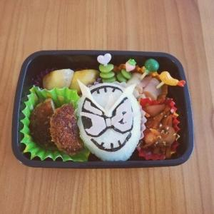 幼稚園最後のお弁当。