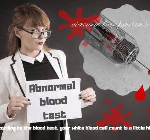 妊娠後期の血液検査の結果|肝機能、貧血、タンパク質、白血球の項目でアウト?
