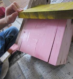 外壁リフォーム(巣箱の管理)
