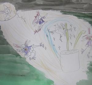 創作意欲が刺激される植物?