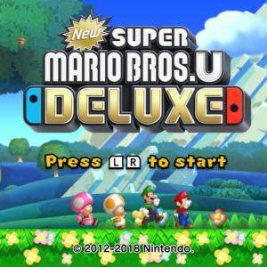 NewスーパーマリオブラザーズUデラックスは難しい?【Nintendo Switch】