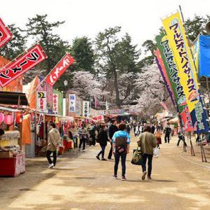 日本三大桜名所 平日の弘前さくらまつりは激空きだった!