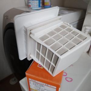 洗濯乾燥機のフイルター掃除