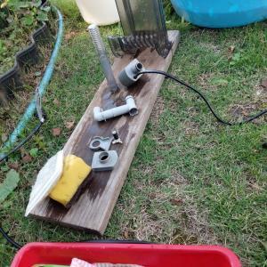 循環濾過機の掃除