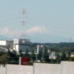 富士山が見える季節に
