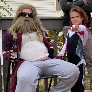 Marvelous Family Halloween : 家族そろって、シネマティック・ユニバース大好きのマーベル・ファミリーのハロウィンのコスプレ ! !